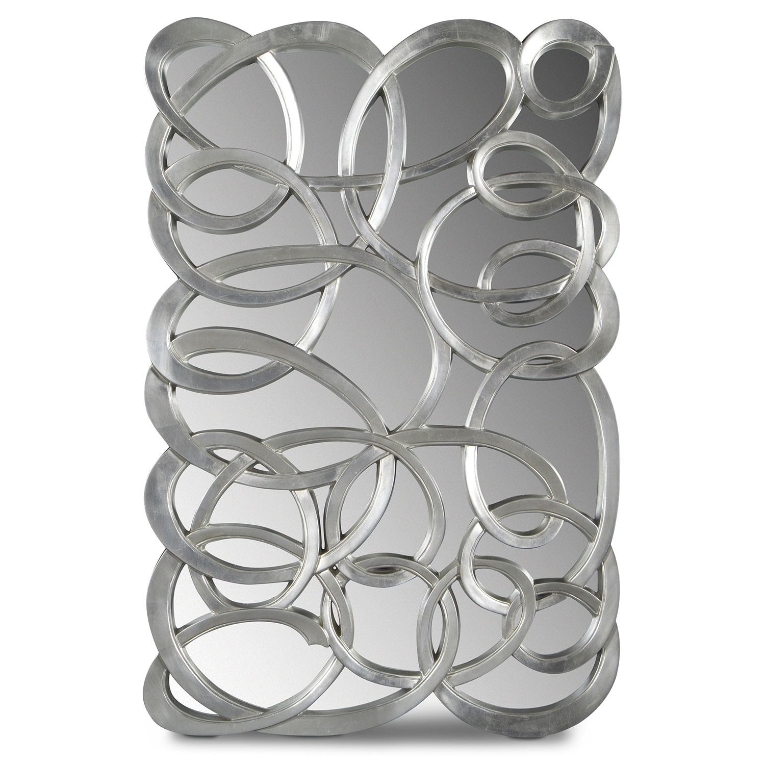 Home Accessories - Swirl Circles Mirror