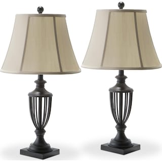 Mason Set of 2 Table Lamps