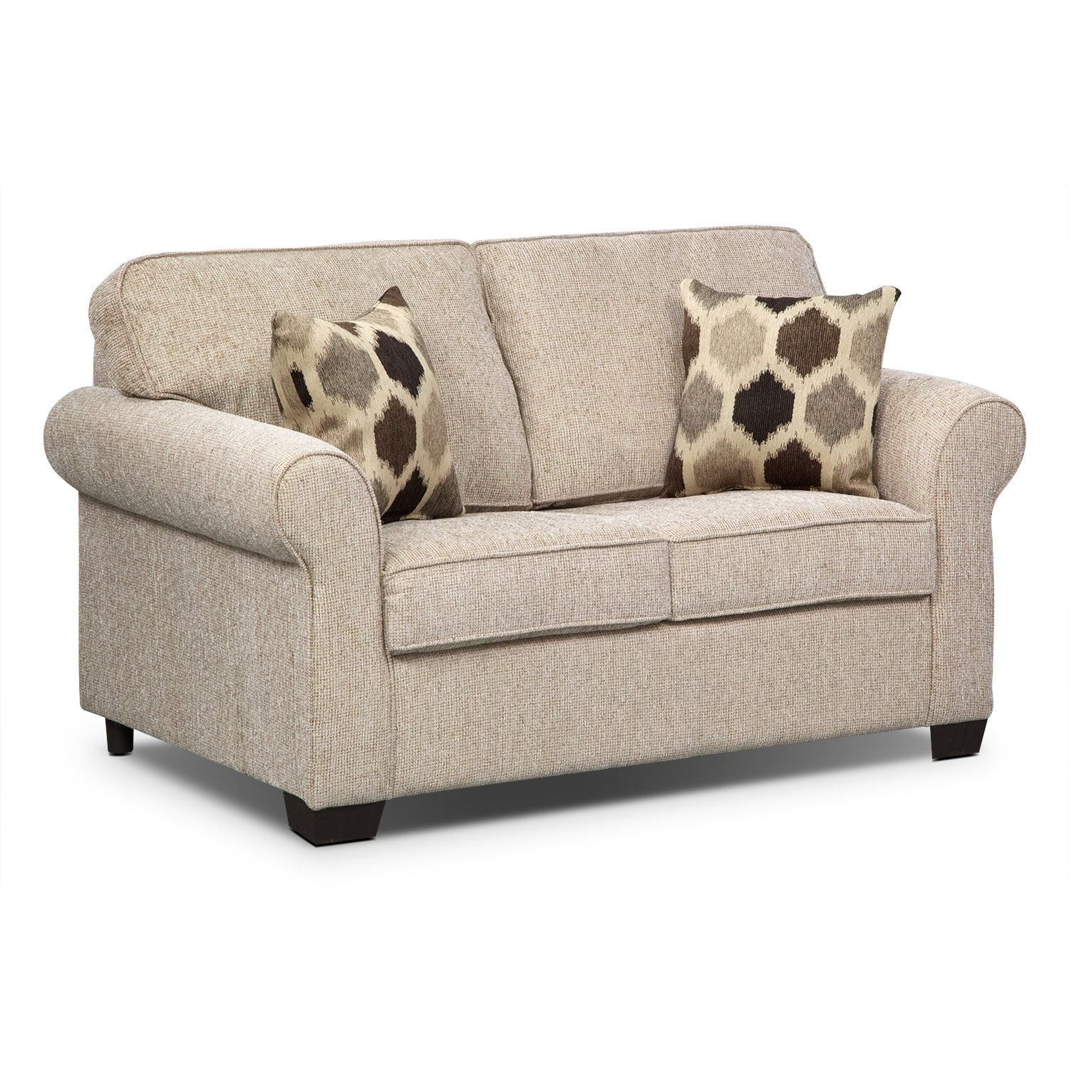 Living Room Furniture - Fletcher Twin Memory Foam Sleeper Sofa