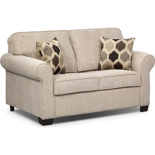 Fletcher Twin Innerspring Sleeper Sofa - Beige