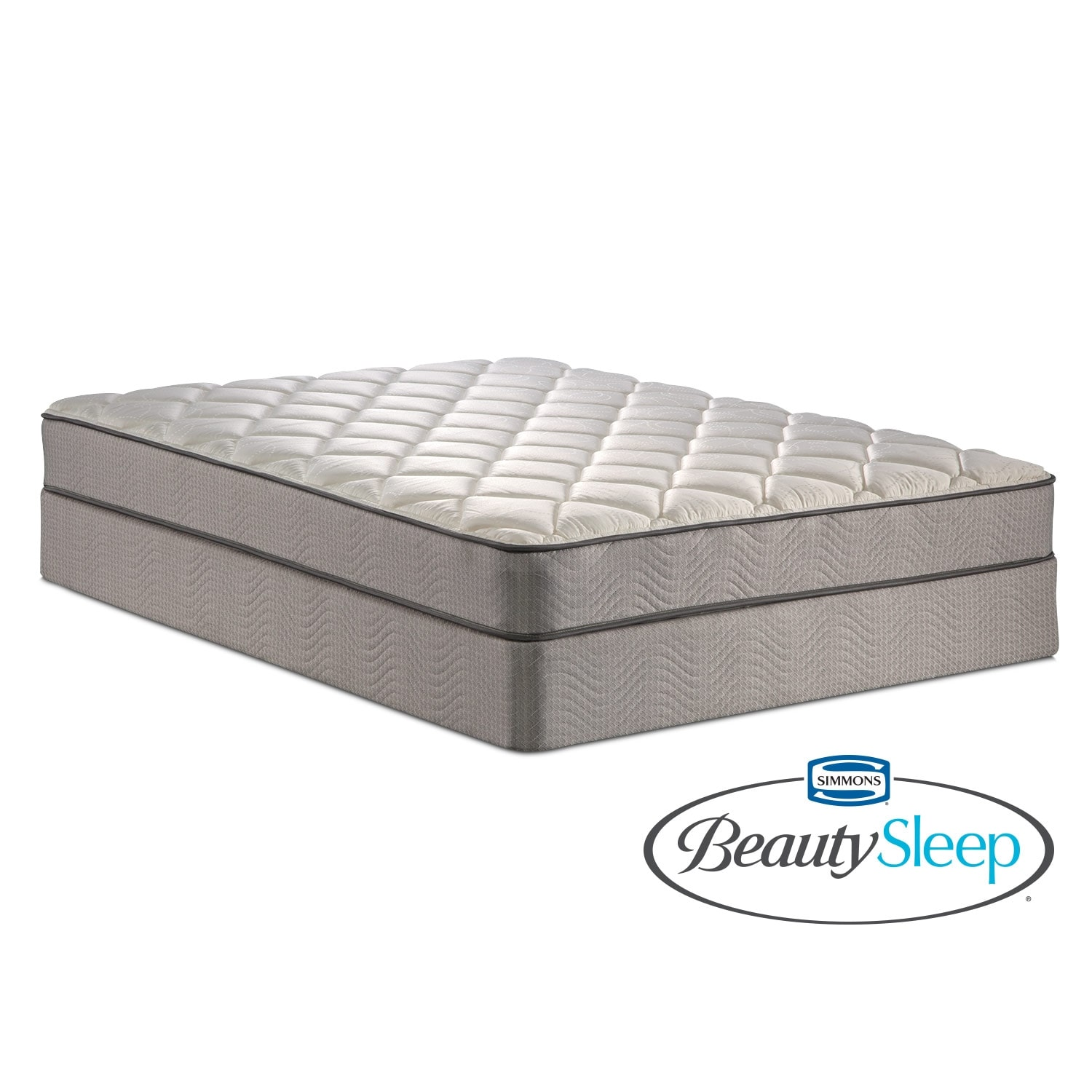 Gates Way Twin Mattress/Foundation Set