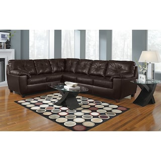 The Ricardo Sectional Collection - Brown