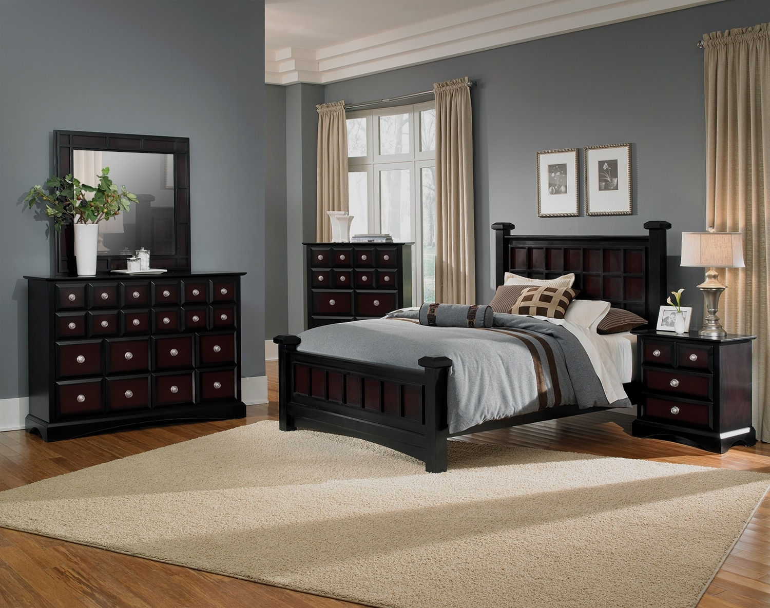 009d9633f70a0 The Winchester Collection - Black and Burnished Merlot