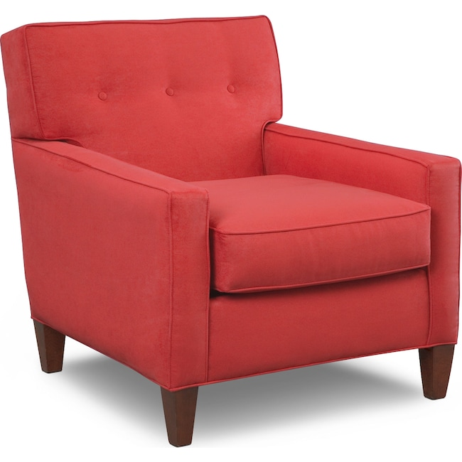 Living Room Furniture - Soho Chair - Red