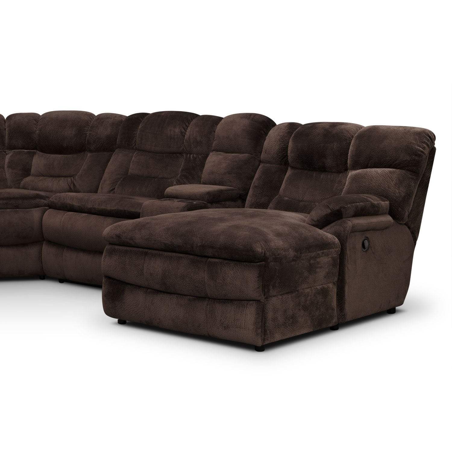 Big Softie 6 Piece Power Reclining Sectional With Right
