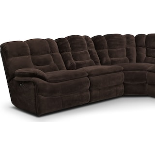 Big Softie 6-Piece Power Reclining Sectional with 3 Reclining Seats