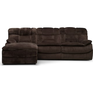 Big Softie 3-Piece Power Reclining Sectional with Chaise