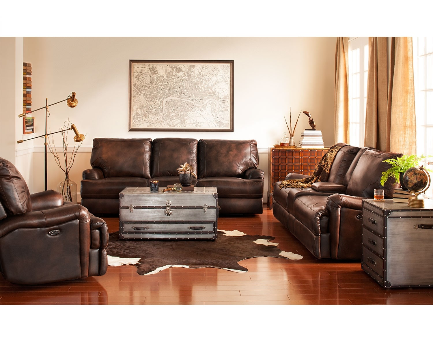 leather living room furniture | american signature furniture