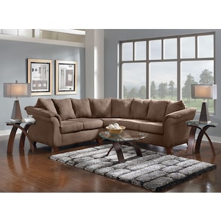 The Adrian Sectional Collection - Taupe