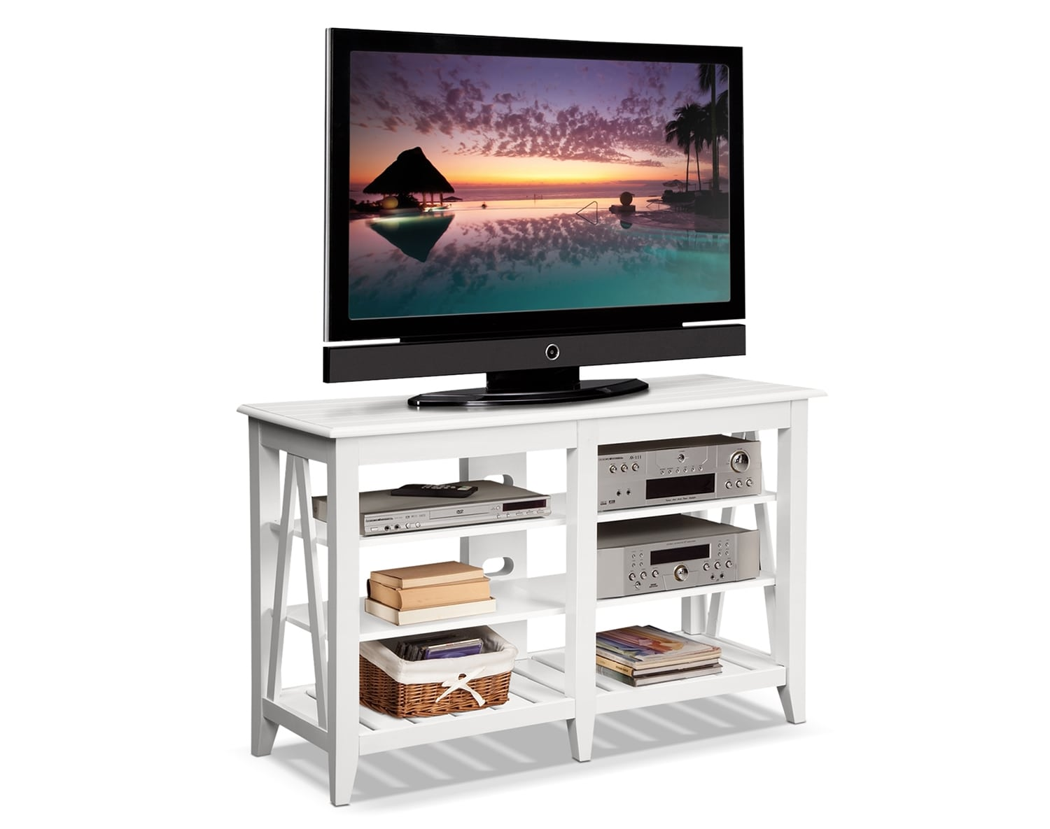 The Plantation Cove Coastal TV Stand Collection