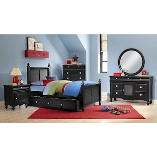 The Seaside Collection - Black