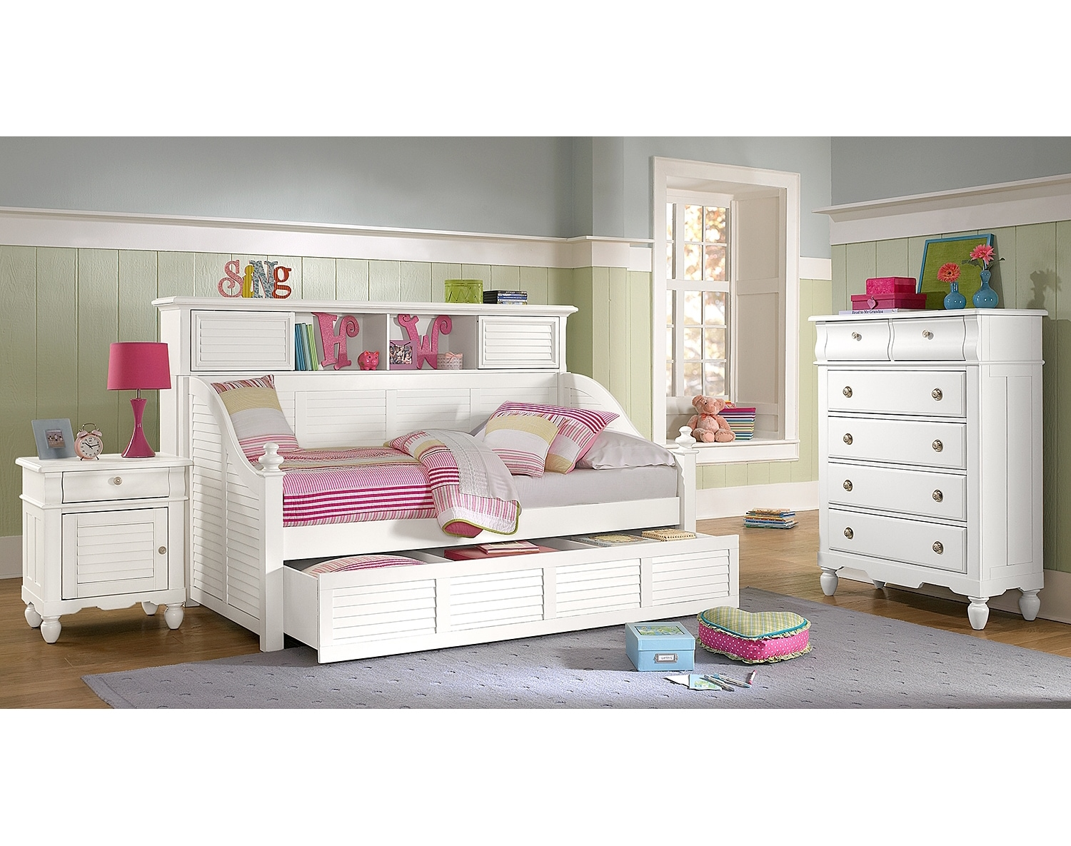 Daybeds Amp Trundle Beds Bedroom Furniture American