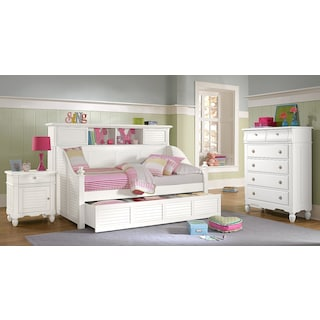 The Seaside Daybed Collection - White
