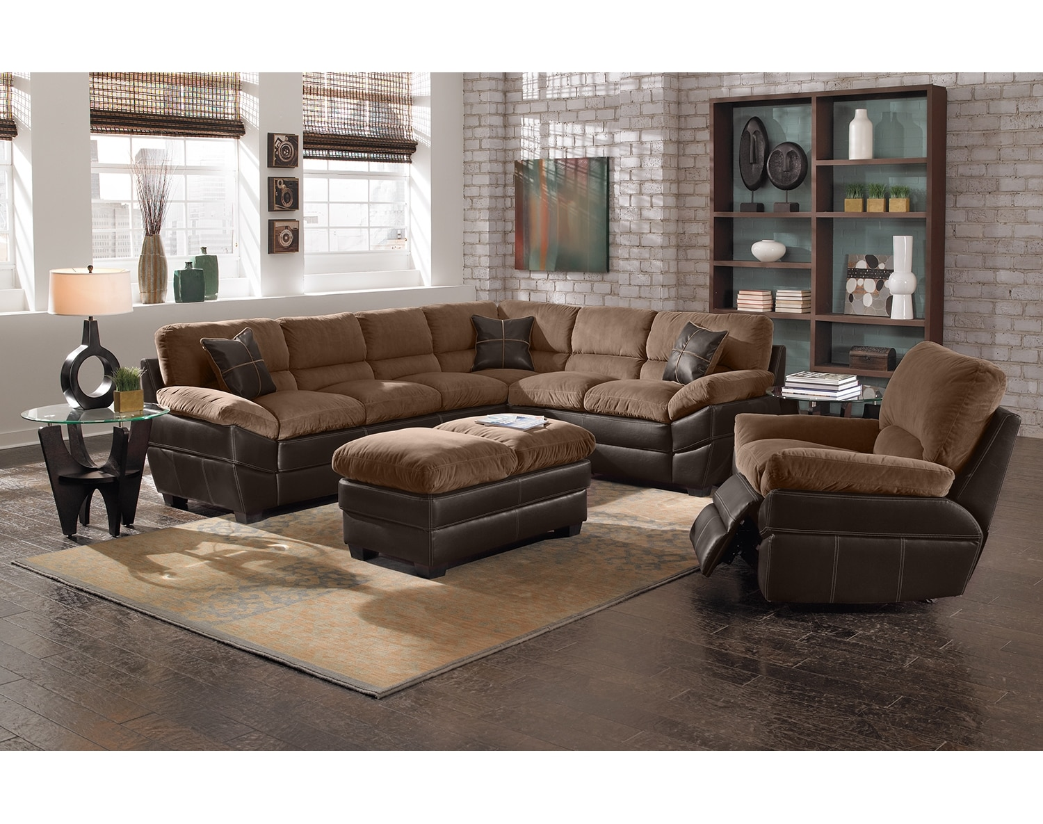 The Chandler Sectional Collection - Beige
