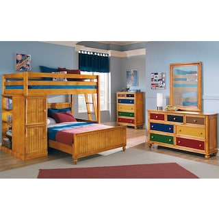 The Colorworks Loft Pine Collection