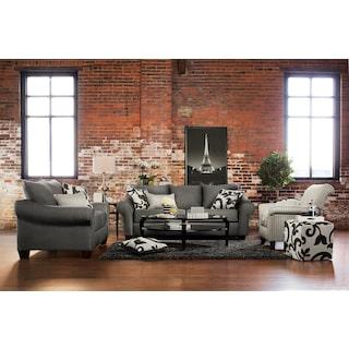 The Colette Collection   Gray. Furniture Brands   American Signature Furniture