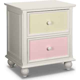 Colorworks Nightstand - White