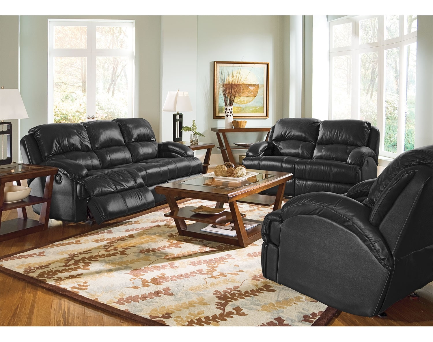 Leather Living Room Furniture American Signature Furniture