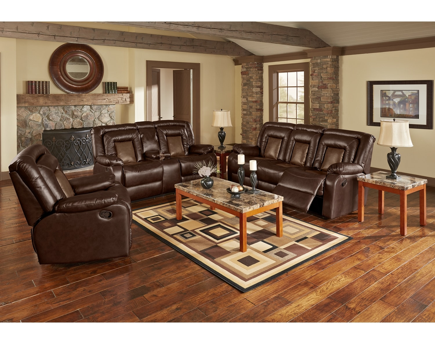 Real Authentic Leather Furniture American Signature