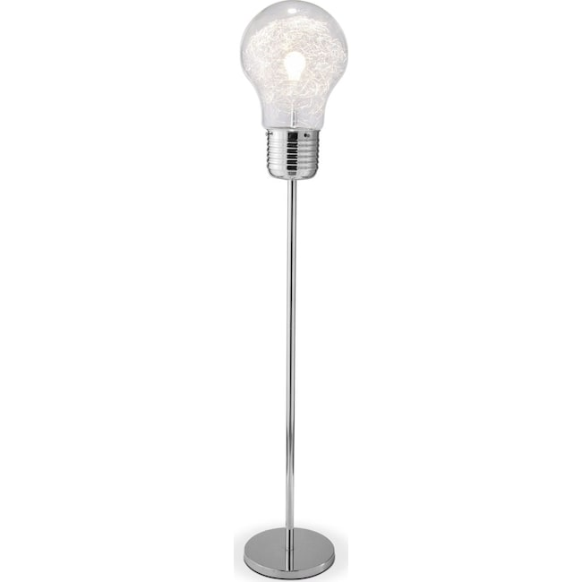 Light bulb floor lamp american signature furniture home accessories light bulb floor lamp mozeypictures Image collections