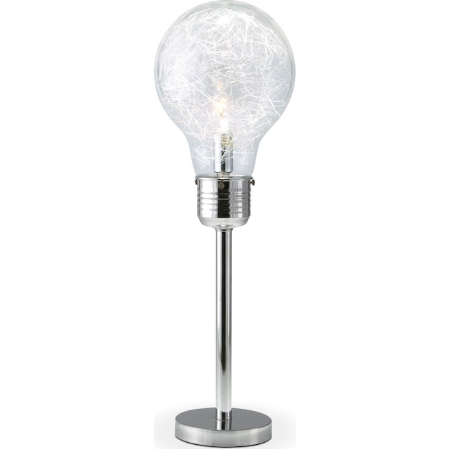 Home Accessories - Light Bulb Table Lamp