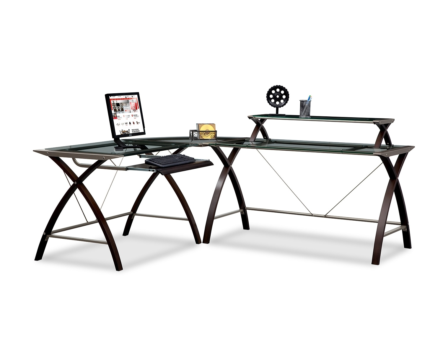 Black Home Office Furniture home office furniture | american signature | american signature