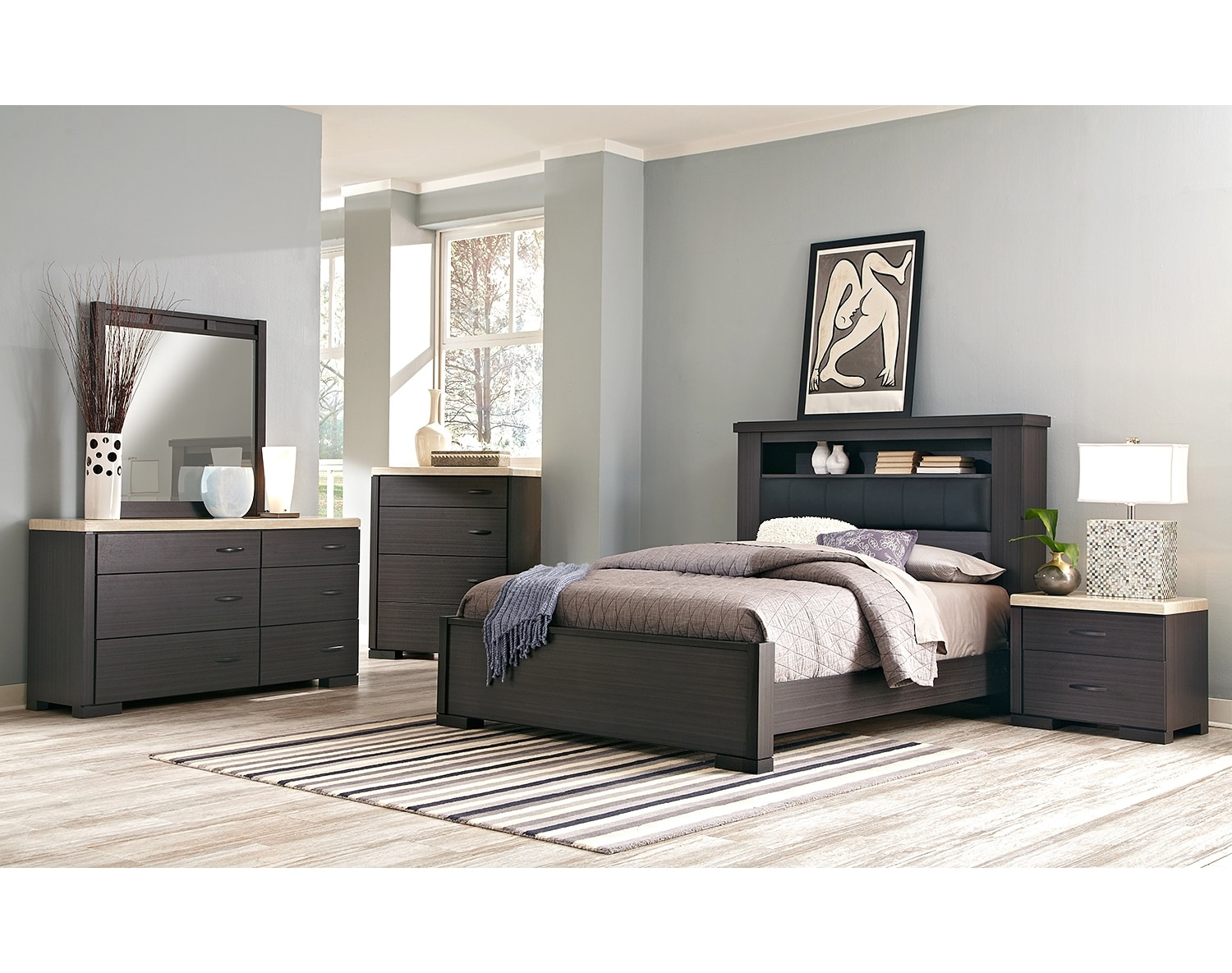 The Camino Collection - Charcoal and Ivory