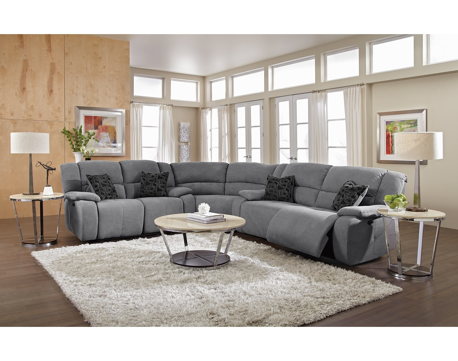 Destin Gray Ii Upholstery Collection American Signature Furniture