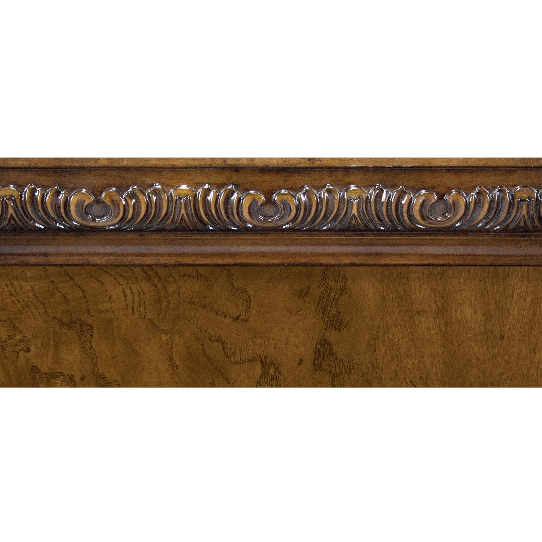 Morocco Queen Bed Pecan American Signature Furniture