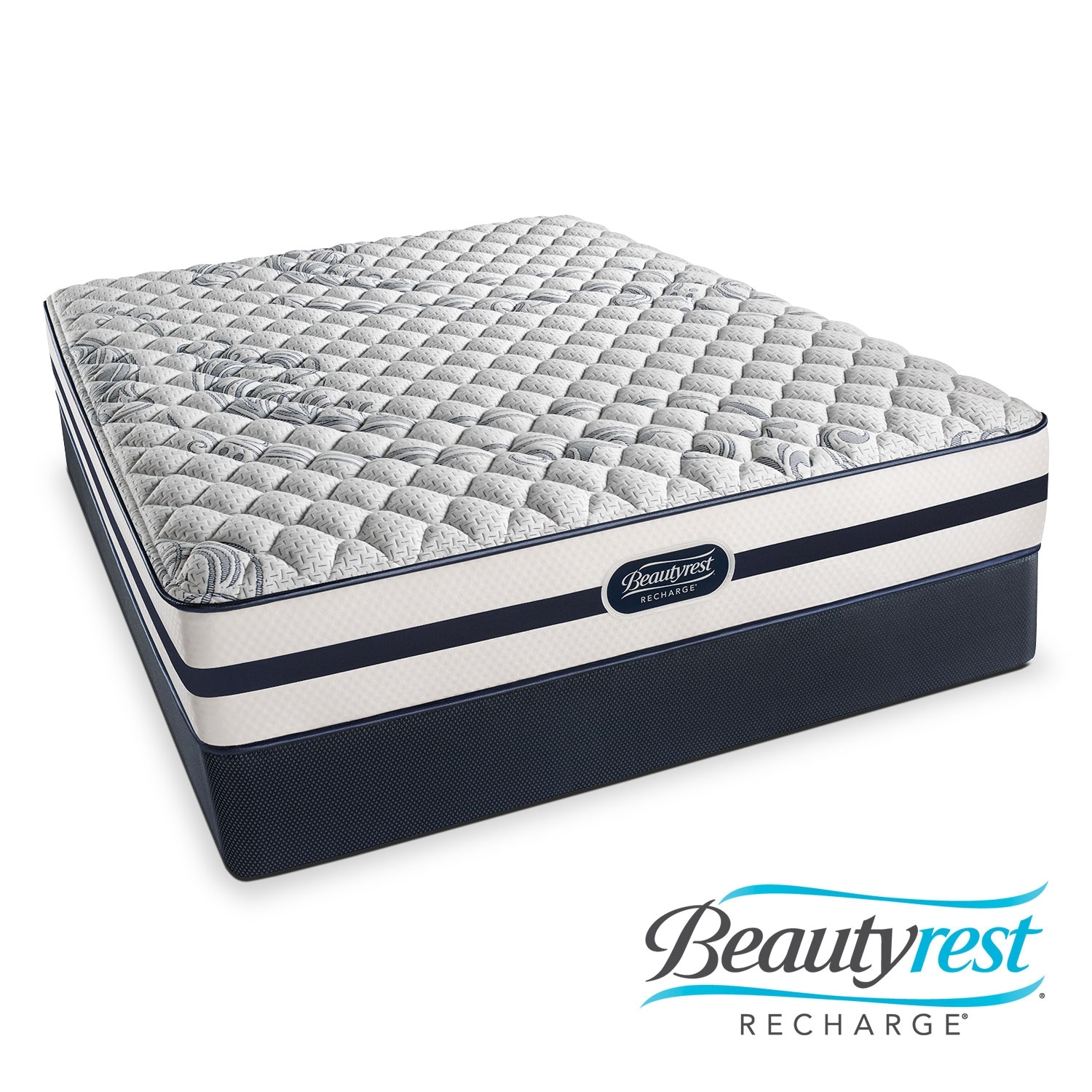 Alisa Firm Twin Mattress and Foundation Set