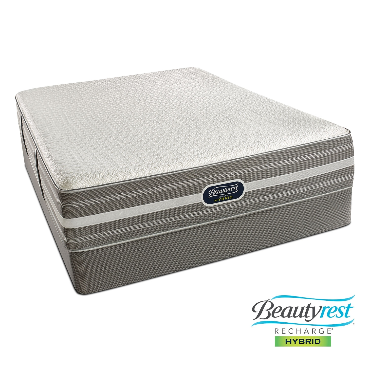 Mattresses and Bedding - Hopewell Luxury Firm Queen Mattress/Low Profile Foundation Set