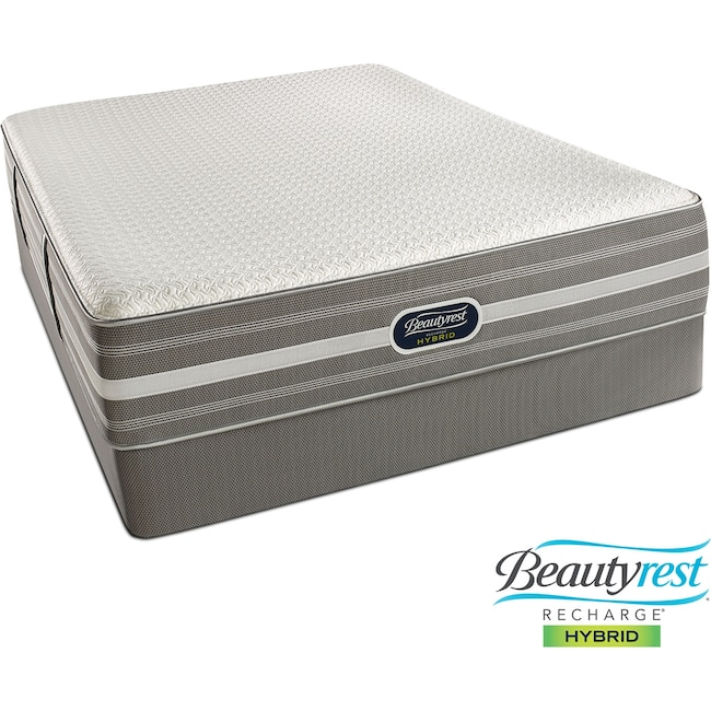 Mattresses and Bedding - Hopewell Luxury Firm Full Mattress and Foundation Set