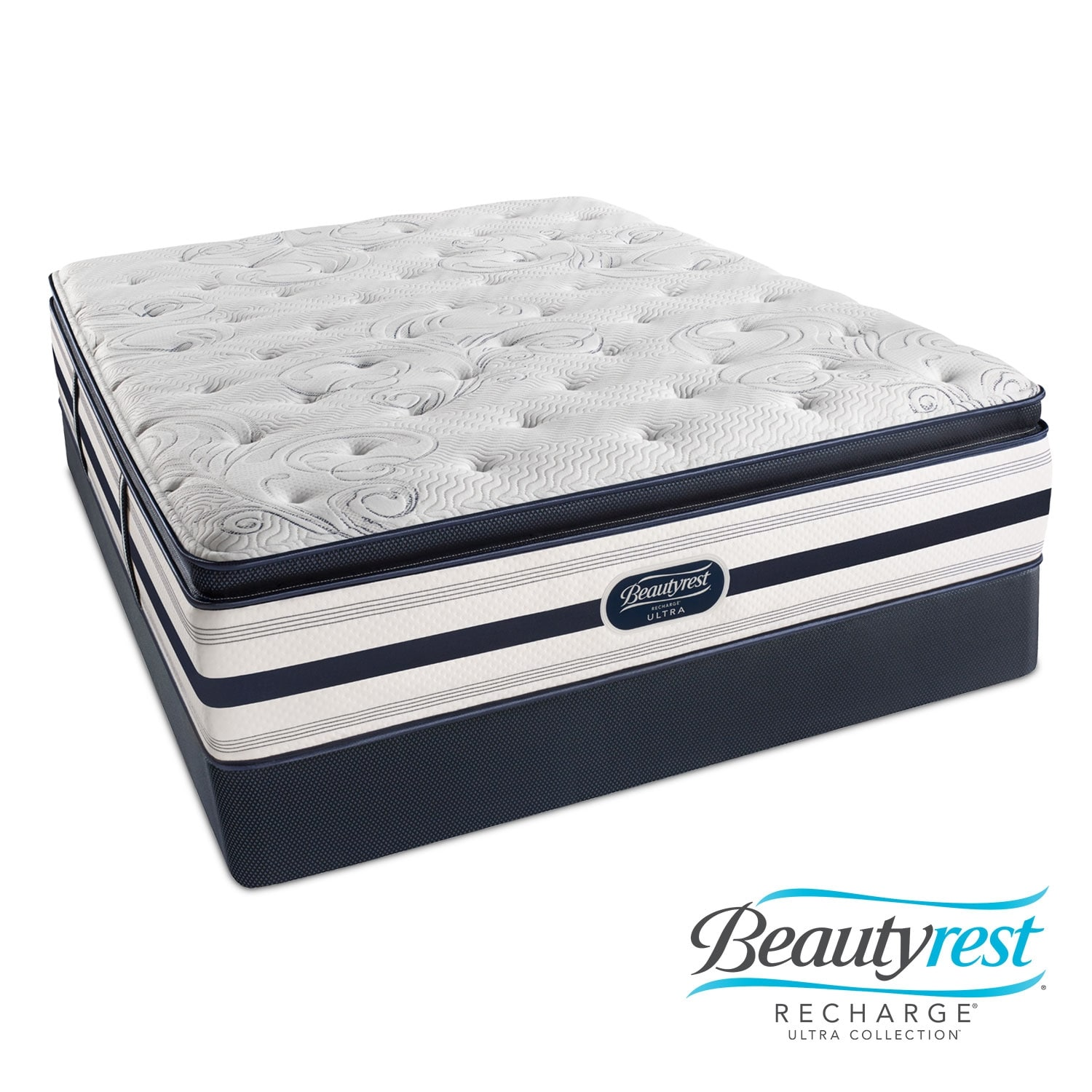 Cerise Luxury Firm PT Twin Mattress/Foundation Set