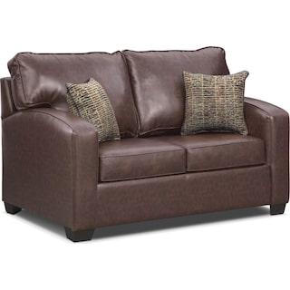 Brookline Twin Innerspring Sleeper Sofa - Brown