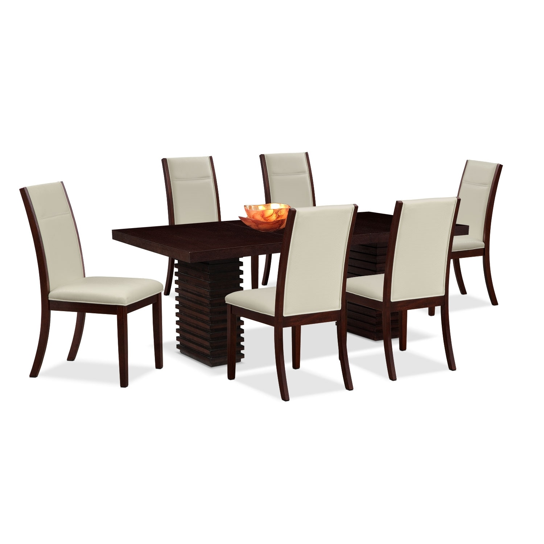 Dining Room Furniture - Paragon Calcutta 7 Pc. Dinette