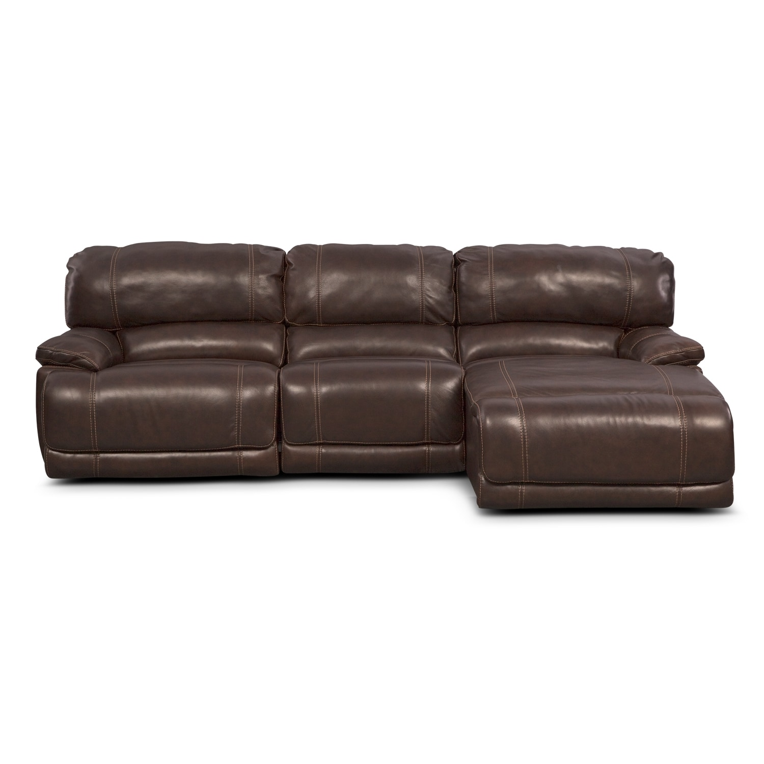 St Malo 3 Piece Power Reclining Sectional With Right