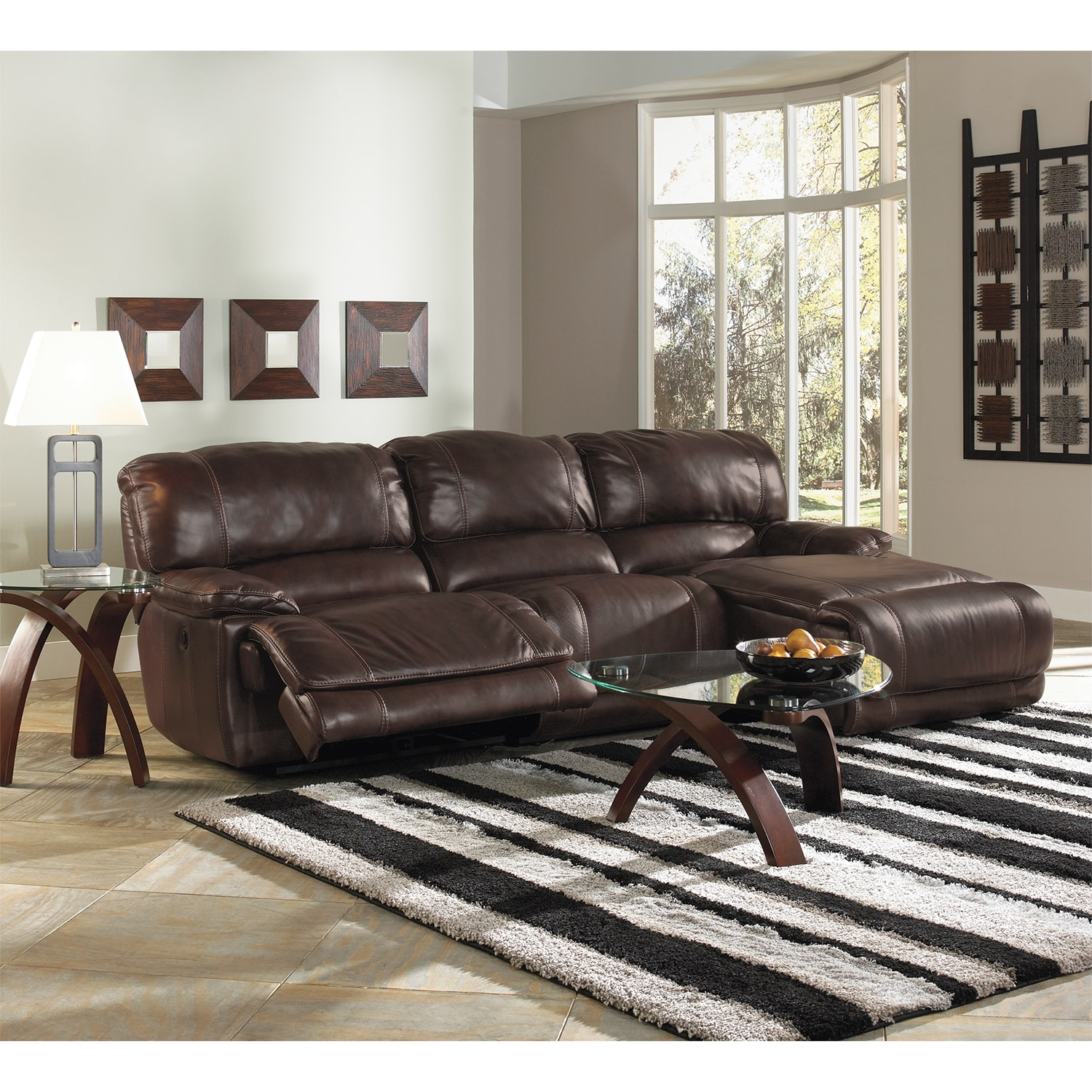 Click to change image. & St. Malo 3-Piece Power Reclining Sectional with Right-Facing ... islam-shia.org