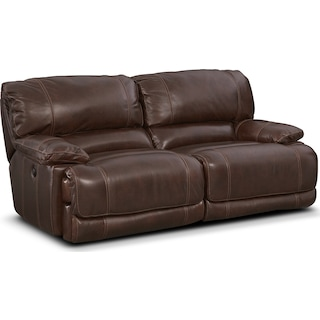 St. Malo 2-Piece Power Reclining Sofa - Brown