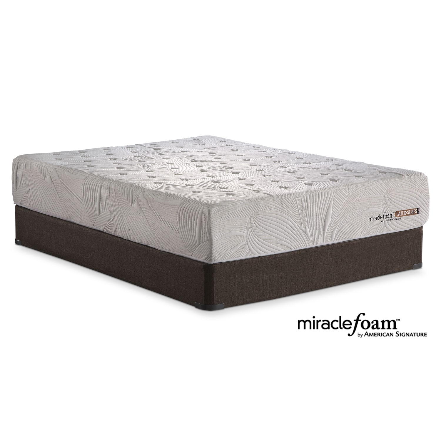 Bliss Queen Mattress and Split Foundation Set