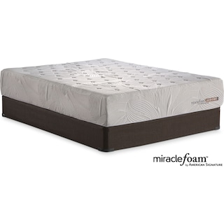 Bliss Queen Mattress and Foundation Set