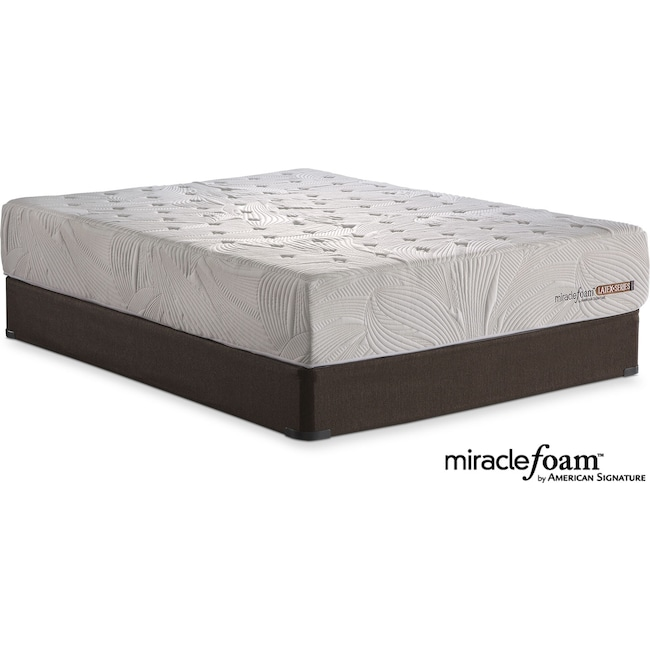 Mattresses and Bedding - Bliss Queen Mattress and Foundation Set