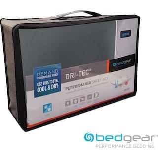 Dri-Tec® Performance Bedgear Queen Sheet Set - Gray