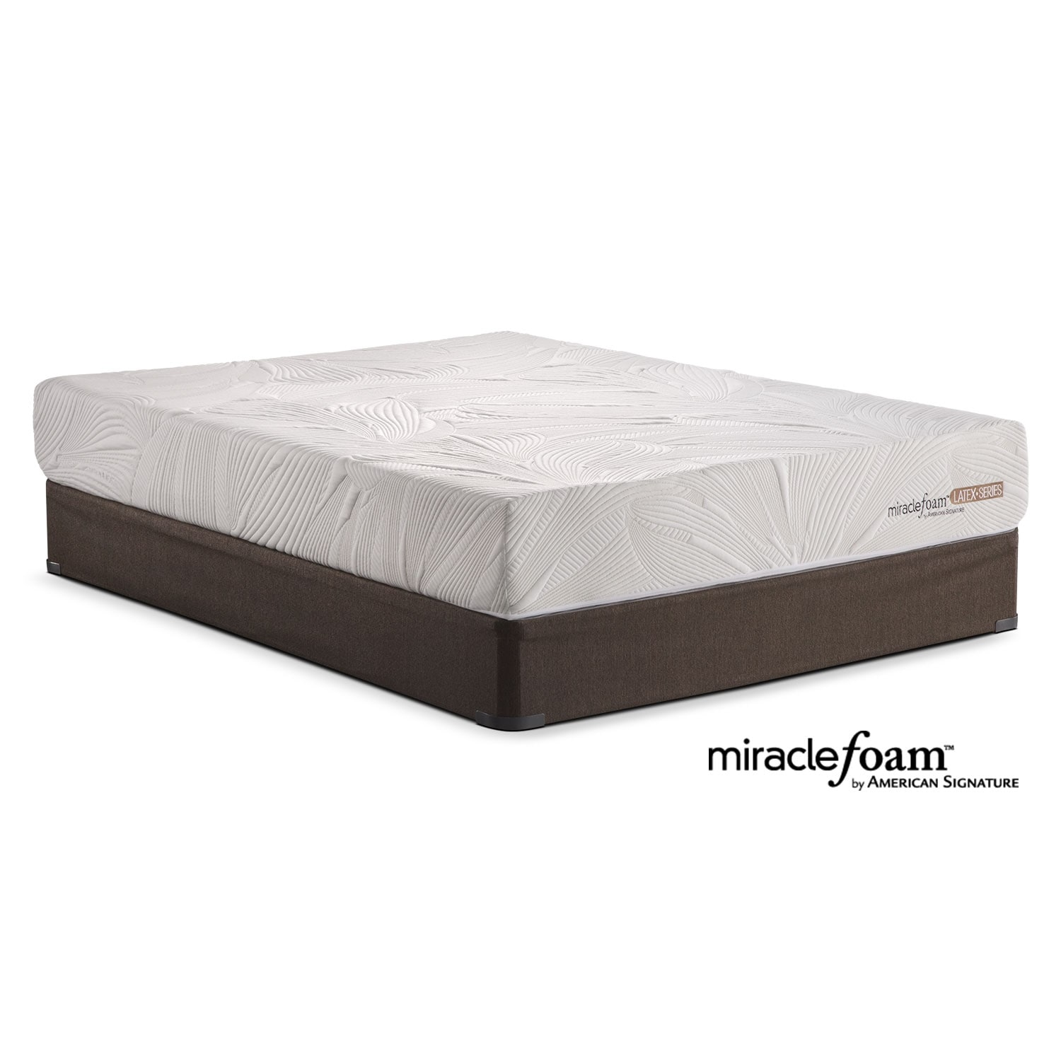 Tranquil Queen Mattress and Split Foundation Set