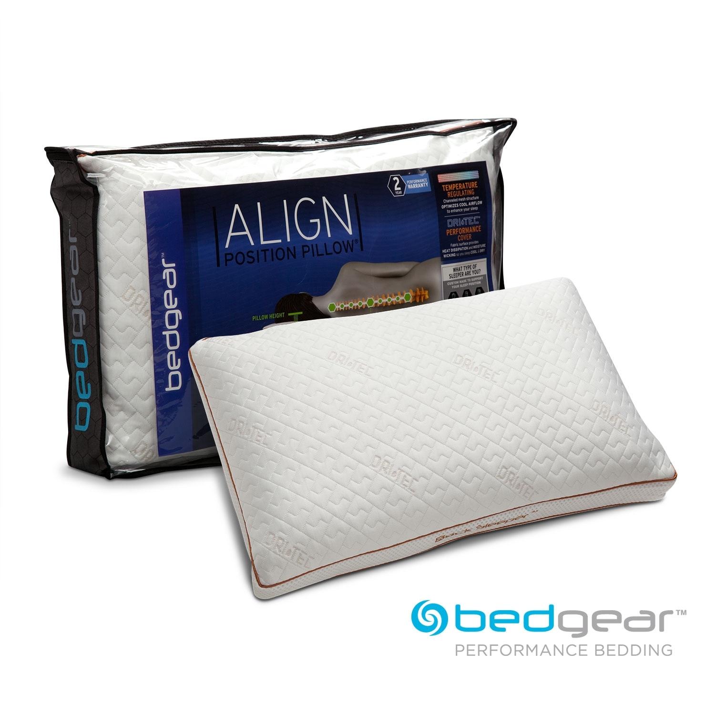 Mattresses and Bedding - Align III Jumbo/Queen Back Pillow