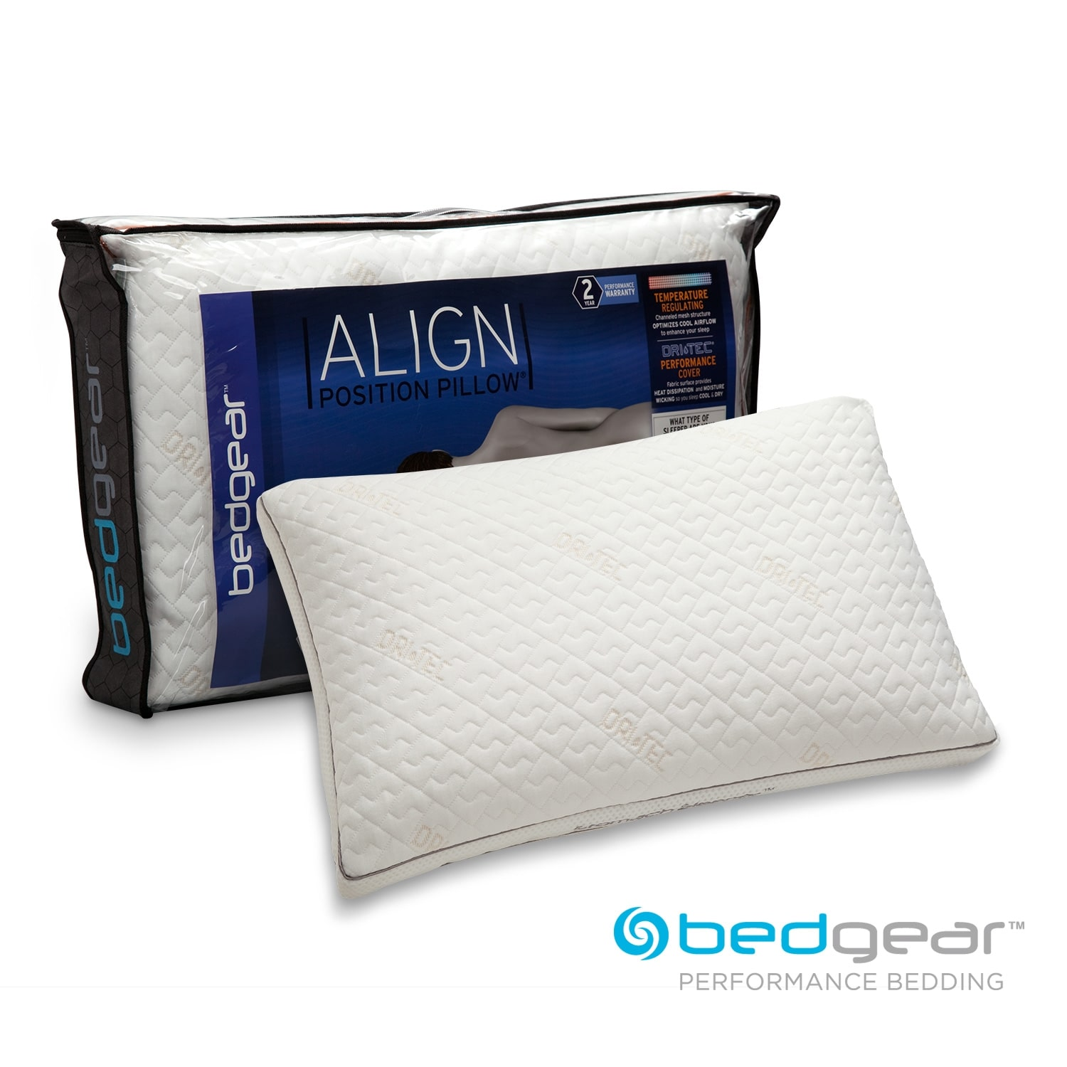 Align Jumbo/Queen Stomach Pillow