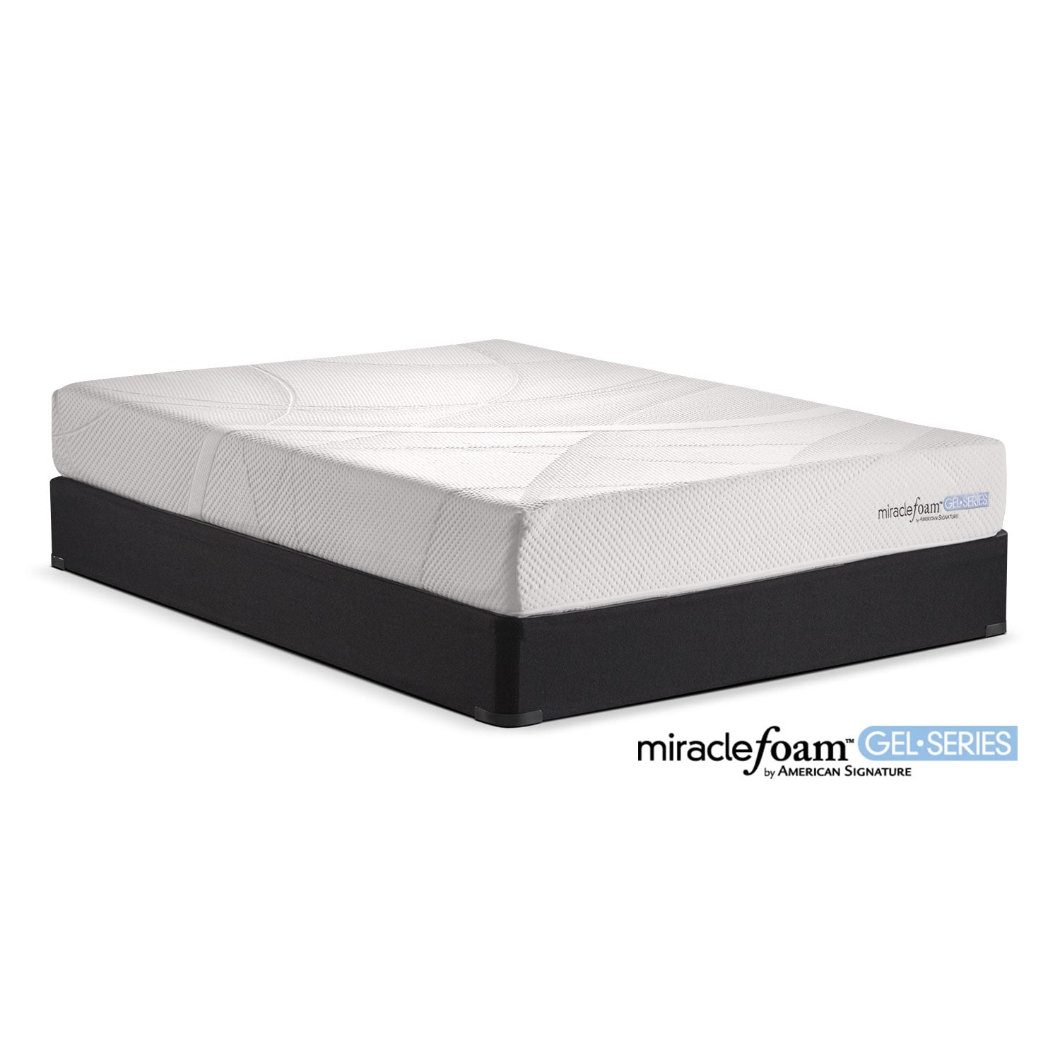 Shop Miracle Foam Mattresses American Signature Furniture - American furniture and mattress