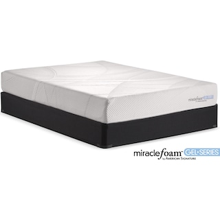 Rejuvenate II Firm Twin Mattress and Foundation Set