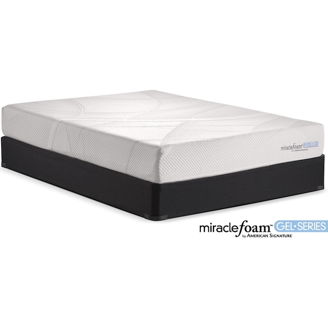 Mattresses and Bedding - Rejuvenate II Firm Queen Mattress and Foundation Set