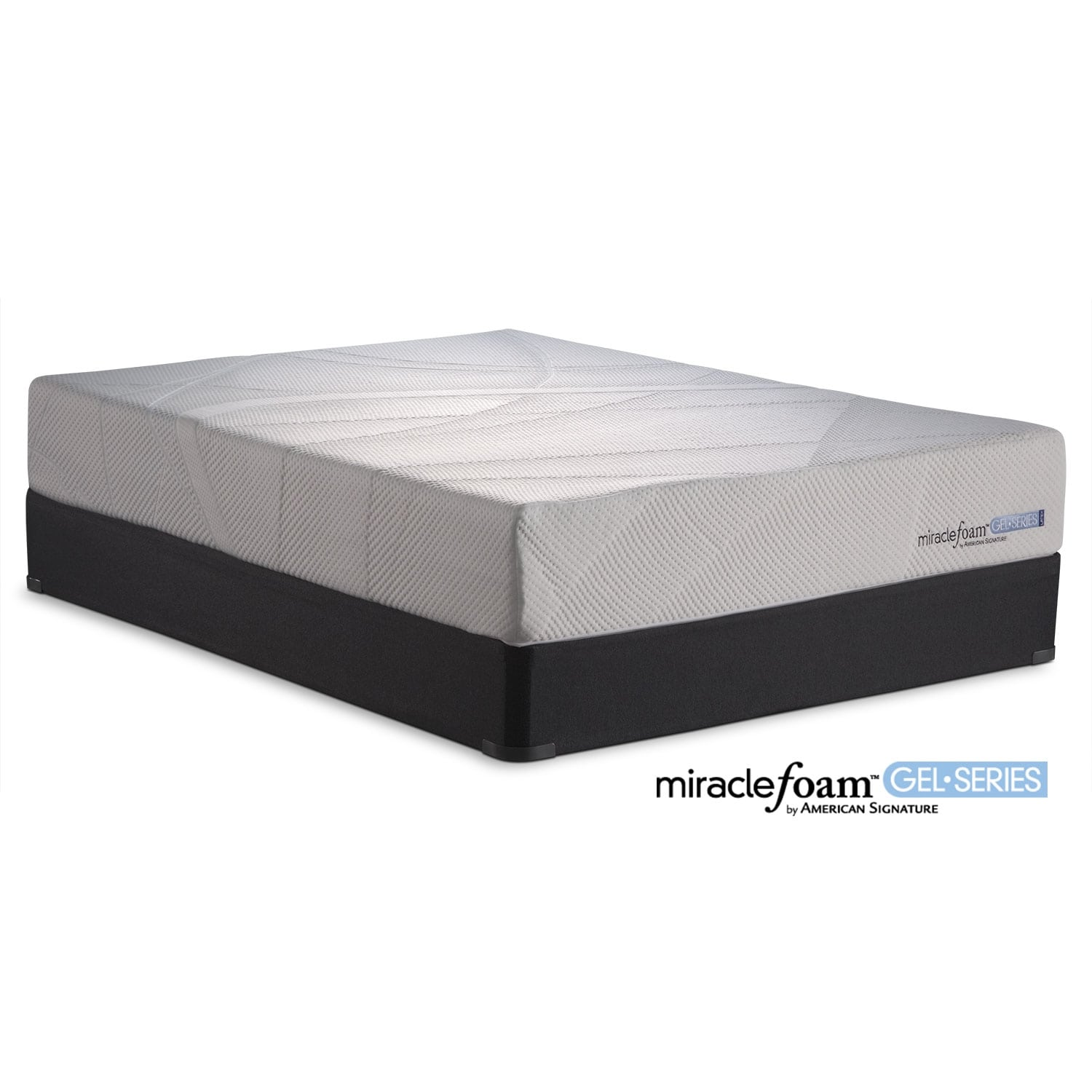Mattresses and Bedding - Invigorate II Full Mattress and Foundation Set