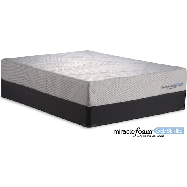 Mattresses and Bedding - Invigorate II King Mattress and Split Foundation Set